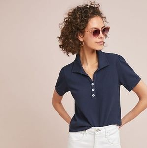 Anthropologie Bristol Collared Top by T. La